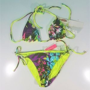 Raisins Floral Reversible Bikini Set D1197 *NEW*